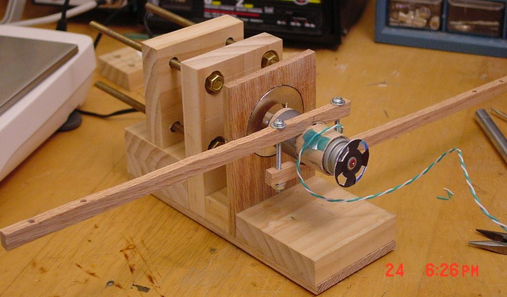 Mechanical power measurement for Measuring electric motor torque